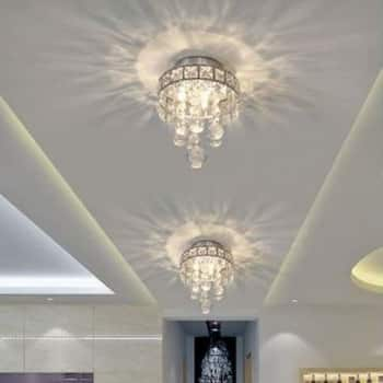 two classic ceiling chandaliers