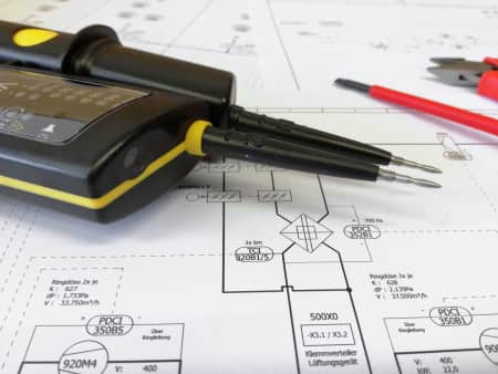 electrical tester and schematics
